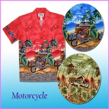 Motorcycle Print Shirts