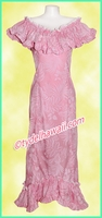 Pink Hawaiian Elegant Dress