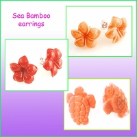 Sea Bamboo Earrings