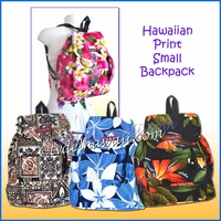 Small Hawaiian print Backpack