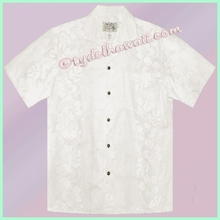 White Hawaiian Wedding Shirt