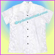 White Hawaiian Women Shirt