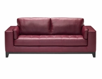 A355 Natuzzi Editions Leather Sofa