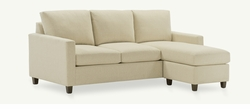 Adam Contemporary Sectional with Chaise Lounge