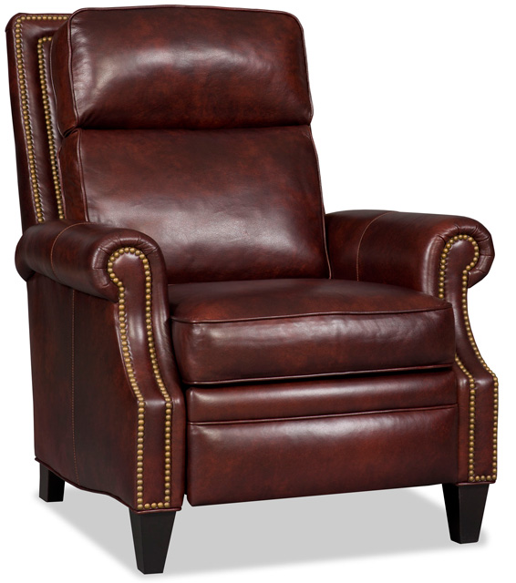 Afton Leather Recliner by Bradington-Young