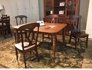 Amish Cherry Dining Set