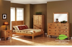 Amish Organic Platform Bed Collection