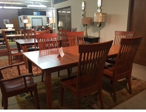 Amish Shaker Cherry Dining Set
