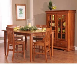 Ann Arden Amish Lexington Dining Set