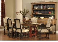 Ann Arden Amish Luxembourg Dining Set