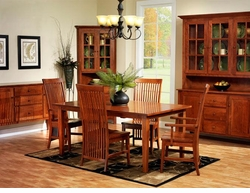 Ann Arden Amish Warren Dining Set