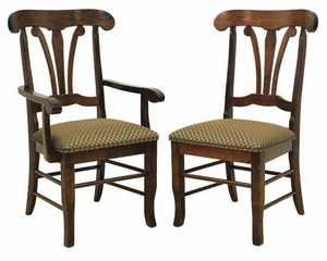 Ann Arden Atlantis Solid Wood Dining Chairs