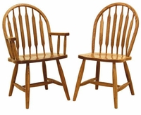 Ann Arden Amish Low Paddle Back Dining Chair