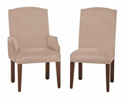Ann Arden Amish Madison Upholstered Dining Chairs