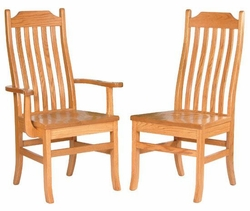 Ann Arden Amish Mission Dining Chairs