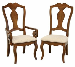 Ann Arden Amish New Albany Dining Chairs
