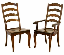 Ann Arden Amish Provence Dining Chairs