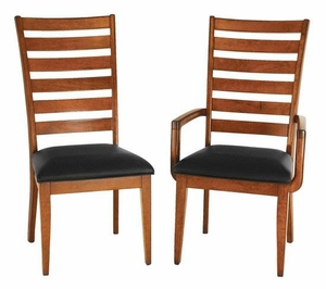 Ann Arden Shaker Ladder Back Chairs