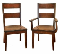 Ann Arden Amish Sonoma Dining Chairs