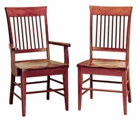 Ann Arden Amish Spindle Back Dining Chairs