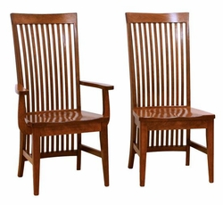 Ann Arden Amish Warren Dining Chairs