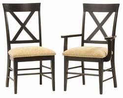 Ann Arden Amish X Back Dining Chair