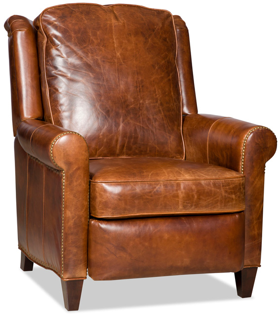 Aubree Leather Recliner by Bradington-Young
