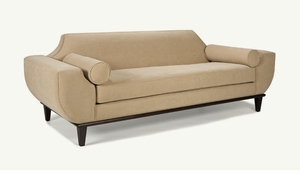 audrey retro modern sofa by younger furniture