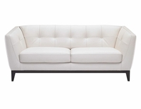 B555 Natuzzi Editions Leather Sofa