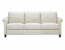 B580 Natuzzi Editions Leather Sofa