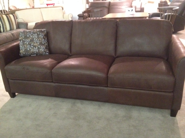 B580 Sofa In Brown Leather By Natuzzi Editions Labor Day