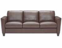 B592 Natuzzi Editions Leather Sofa