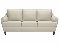 B635 Natuzzi Editions Leather Sofa