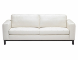 B694 Natuzzi Editions Leather Sofa