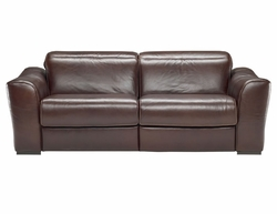 B708 Natuzzi Editions Leather Sofa