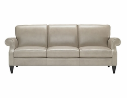 B732 Natuzzi Editions Leather Sofa