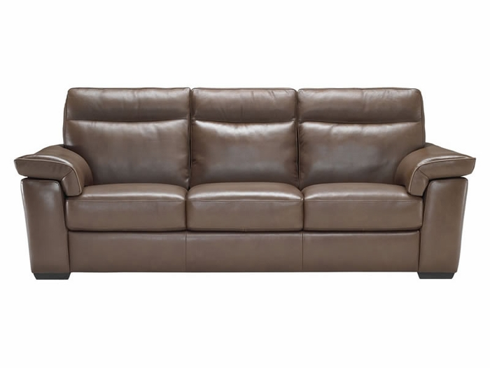 B757 Natuzzi Leather Sofa Labor Day Sale