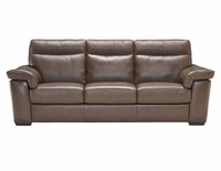 B757 Natuzzi Leather Sofa