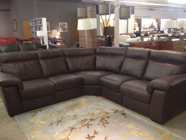 B757 Reclining Sectional By Natuzzi Editions Labor Day Sale