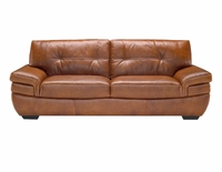 B806 Natuzzi Editions Leather Sofa