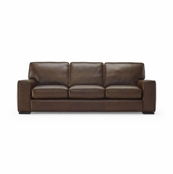 B858 Natuzzi Leather Sofa