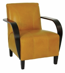 Basie Leather Chair by Norwalk Furniture