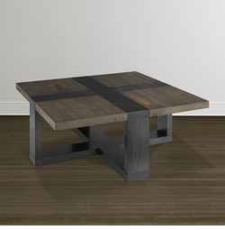 """Bench*Made Skyline 42"""" Square Cocktail"""