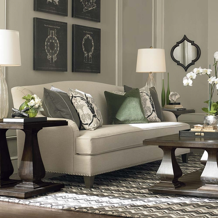 living room sofas and sofa beds biltmore sofa by bassett furniture