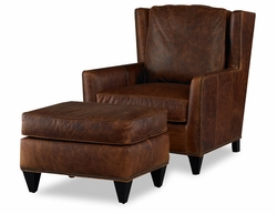 American Naturals Distressed Leather Chair