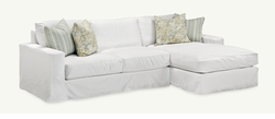 Breeze Slipcover Sectional by Younger Furniture