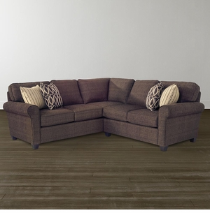 Brewster L Shaped Sectional by Bassett Furniture