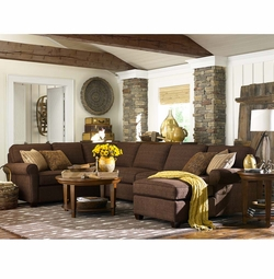 Brewster Sectional Sofa by Bassett Furniture