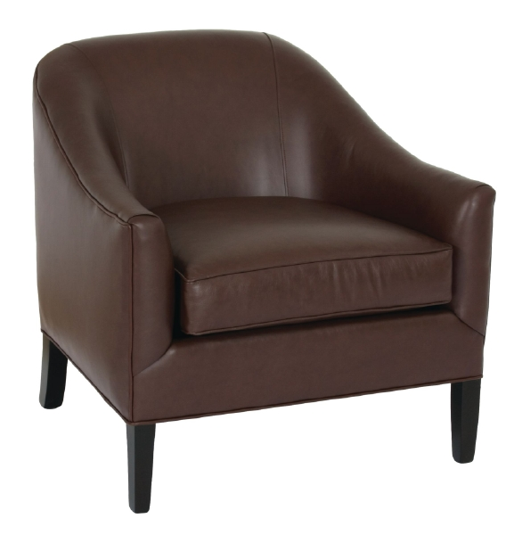 Norwalk Leather Sofa: Brockton Chair In Leather