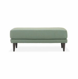 byrd retro modern bench ottoman